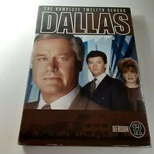 Dallas - Season 12 (DVD, 2005, 3-Disc Set) Complete Twelfth  Season NEW SEALED