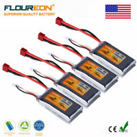 4X 2S 7.4V 1500mAh 35C Lipo RC Battery Pack T Plug for RC Truck Helicopter Drone