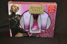 BEYONCE HEAT WILD ORCHID 30ML EDP SPRAY + 75ML LOTION + 75ML SHOWERGEL GIFT SET