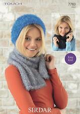 Sirdar Knitting Pattern 7783 Using The Touch Wool