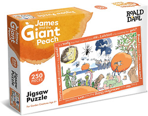 James and the giant peach. Roald Dahl 250 piece jigsaw puzzle. New,Sealed