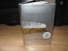 Jon McGregor - Reservoir 13 Signed 2017 1st HB Man Booker Prize nominated author