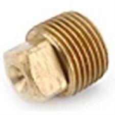 Plug Solid Red Brass 1-1/4