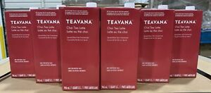 Starbucks 6-Pack Teavana Chai Spiced Black Tea Latte Concentrate 1 Qt Ea BB 4/21