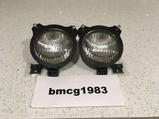 Case David Brown Tractor 885 990 995 996 1210 1412 Pair Headlights and Mounts