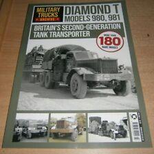 Military Trucks Archive magazine Vol 3 2020 Britain's 2nd-Generation Tank Transp