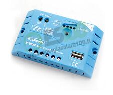 Regolatore di carica 5A 12V con uscita USB (5V) per cellulari pannello solare