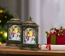 Christmas Lanterns For Decoration - Pack of 2 christmas lanterns