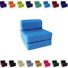 Choose Size Single Twin Full Sleeper Chair Seat Mattress Folding Foam Bed