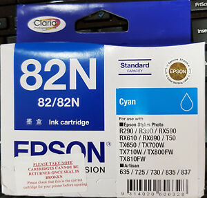 Epson 82N Original Ink Cartridge - Cyan