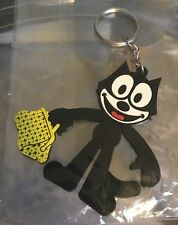 Felix the Cat keychain plastic collectibles NEW