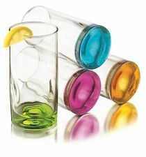 Libbey 55716 Impressions Colors Drinkware Party Bar 16.5 oz Glasses Set of 4