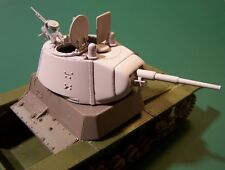 WW2 T-26 Conical Turret Stamped Mask AA MG 1/35 HobbyBoss Zvezda Resin