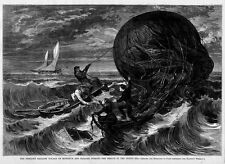 RESCUE IN THE NORTH SEA, PERILOUS BALLOON VOYAGE OF MONSIEUR AND MADAME DUROUF