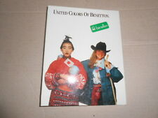 Quaderno Anelli United Colors Benetton 3 SCHOOL Scuola Ring Binder Vintage