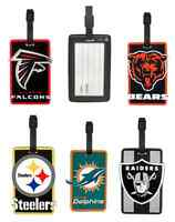NFL Soft Rubber Luggage and Bag Tag - Pick Your Team