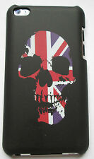 iPod Touch 4th generation Hard Shell - Black,Skull-Flag,good quality shell