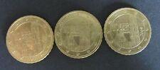 3 x 10 céntimos de euros-Moneda de Austria año de emisión 2007,2008+2009 circulación artículo de colección