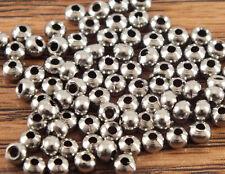 "Brass Beads for Fly Tying - Nickel- 9/64"" 3.5mm 50 pkg Mat227"