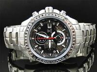 Mens Aqua Master Jojo Joe Rodeo  W 336 Real Black Diamond Watch 43 MM 1.5 Ct