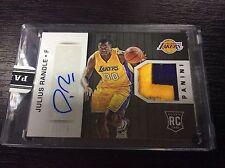 2014-15 Panini NBA Final Julius Randle LA Lakers RC Patch Autograph Auto 11/25