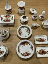 royal albert old country roses 15 Items