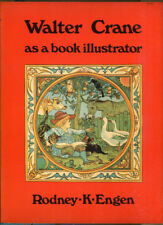 Walter Crane as a Book Illustrator by Rodney K. Engen-1st PB Printing-1975