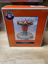 ✅LIONEL OPERATING AMUSEMENT PARK SWING RIDE ACCESSORY 6-14203 ANIMATED CARNIVAL