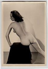 #627 RÖSSLER AKTFOTO / NUDE WOMAN STUDY * Vintage 1950s Studio Photo - no PC !