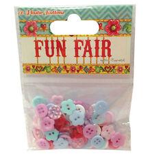 'Fun Fair by Helz Cuppleditch' 80 Plastic Buttons