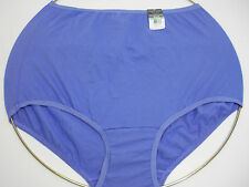 Vanity Fair Perfectly Yours Tailored Blue Brief Panty, size 8XL #15318