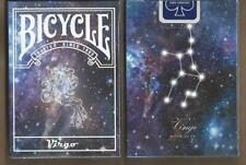 1 DECK Bicycle Constellation VIRGO zodiac playing cards FREE USA SHIPPING