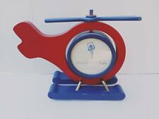 Pottery Barn Helicopter Kids Wooden Picture Frame