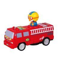 Korean TV Anime Little Penguin Pororo Push And Go 911 Fire Car Toy Cute Design