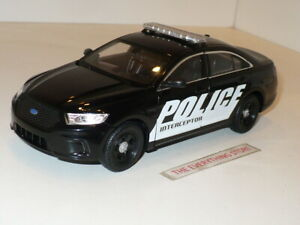 WELLY FORD POLICE INTERCEPTOR BLACK 1:24 SCALE USA FREE SHIP