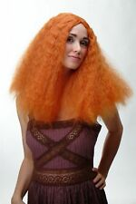 volumineux Perruque Femmes Orange Boucles SAUVAGE wikingerin ecossaise