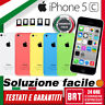 SMARTPHONE APPLE IPHONE 5C 8GB/16GB/32GB SBLOCCATO ORIGINALE! 12 MESI GARANZIA!