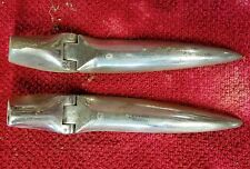 Sunbeam Tiger / Alpine Trunk Boot Hinge Chrome Pair Hinges (2) Used Orig
