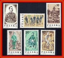 POLAND 1986 CYCLING MNH SPORTS, TRANSPORT