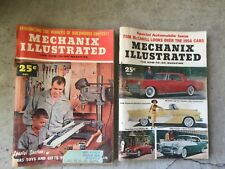 Mechanix Illustrated MAGAZINE  vintage LOT OF 2 of 1955  Nov, Dec
