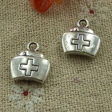 free ship 220 pcs tibetan silver medicine cabinet charms 13x12mm #2963