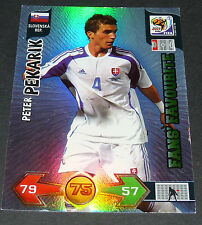 PETER PEKARIK SLOVAQUIE PANINI FOOTBALL FIFA WORLD CUP 2010 CARD ADRENALYN XL