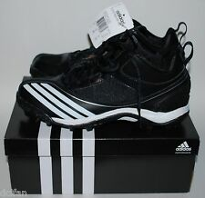 Adidas Scorch Blast Mid Football Cleats Shoes Black White Mens Adult Size 7 NIB