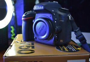 Nikon D750 24.3mp DSLR Camera - Black inc Box