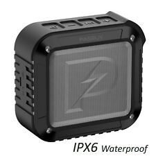 PASBUY P8 IPX6 Waterproof In/Out Portable Bluetooth 4.1 NFC FM Speaker Black