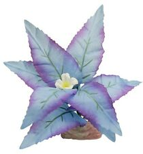 Blue Ribbon ColorBurst Florals Flowering Broad Leaf Cluster Aquarium Plant Mini