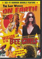THE LAST WOMAN ON EARTH / INVASION OF THE BEE GIRLS (DVD 2008) (R)