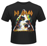 Def Leppard T Shirt Hysteria Album Official Licensed Black Mens Rock Merch NEW