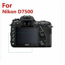 3PCS Tempered Glass Protector for Nikon D7500 DSLR Digital Camera LCD Display