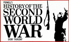 PURNELL'S HISTORY OF THE SECOND WORLD WAR - VINTAGE  BACK ISSUES